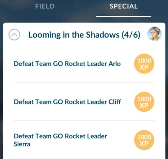 Ein langer schatten pokemon go