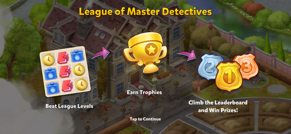 League of Master Detectives Intro