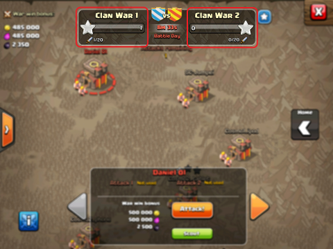 Matchmaking coc war