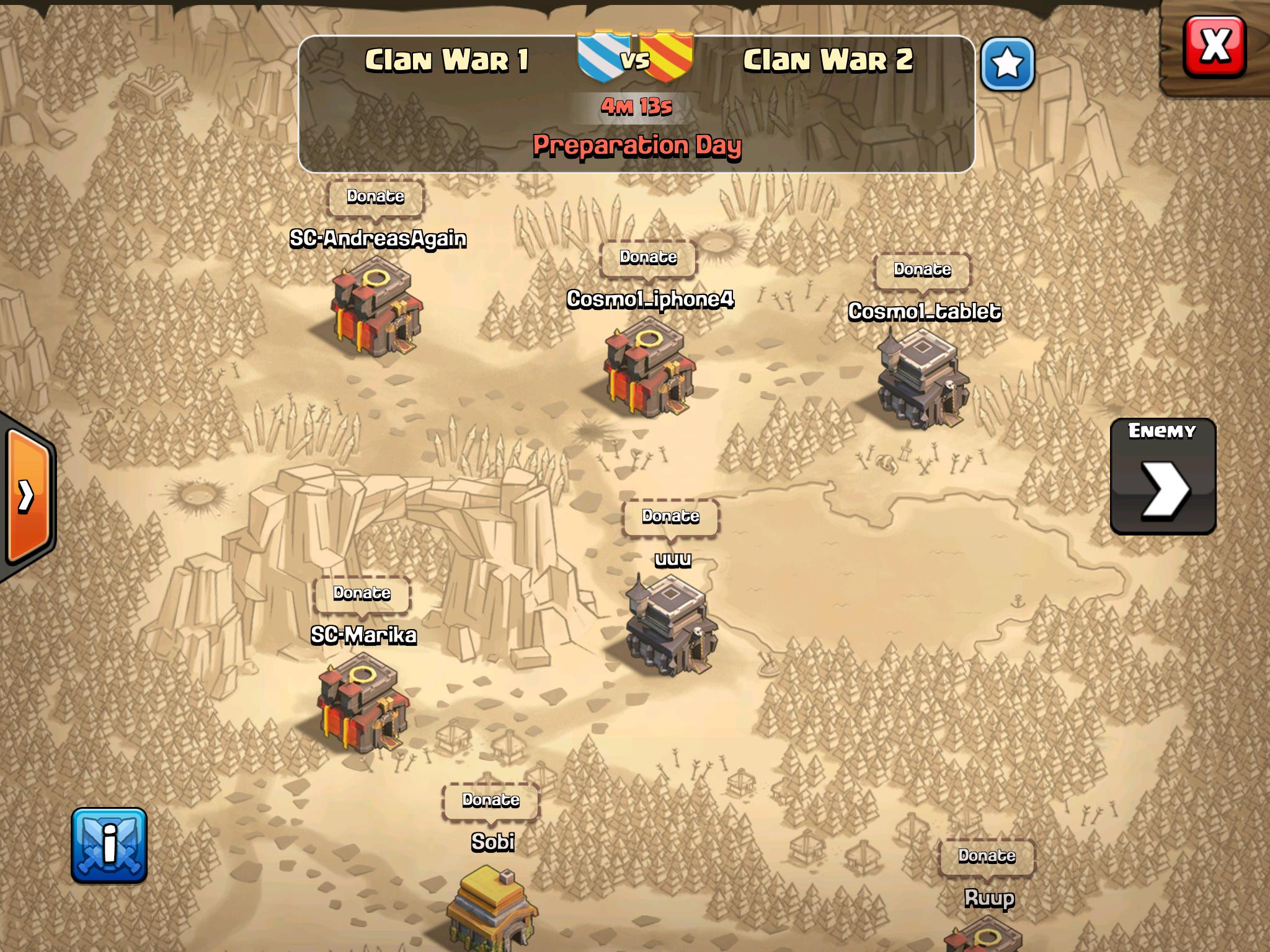 pertanyaan tentang clash of clans