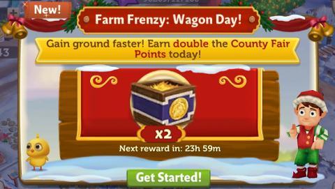 Farm Frenzy: Wagon Day! (December 21) — FarmVille 2: Country